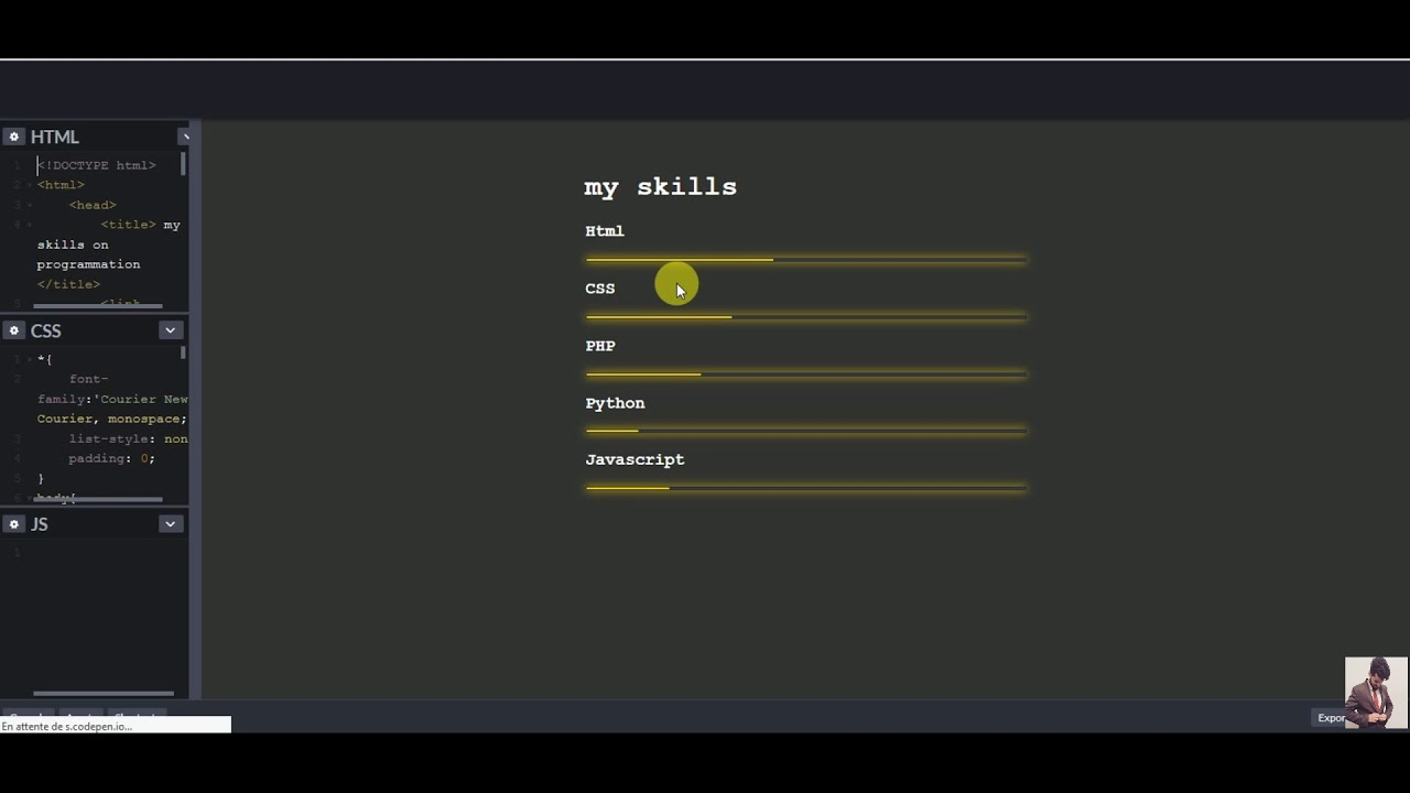 Sticky Js Codepen