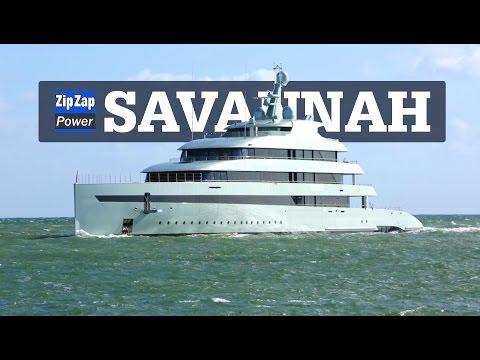 Hybrid Superyacht SAVANNAH | Underway in Florida