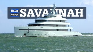 Hybrid Superyacht SAVANNAH | Underway in Florida