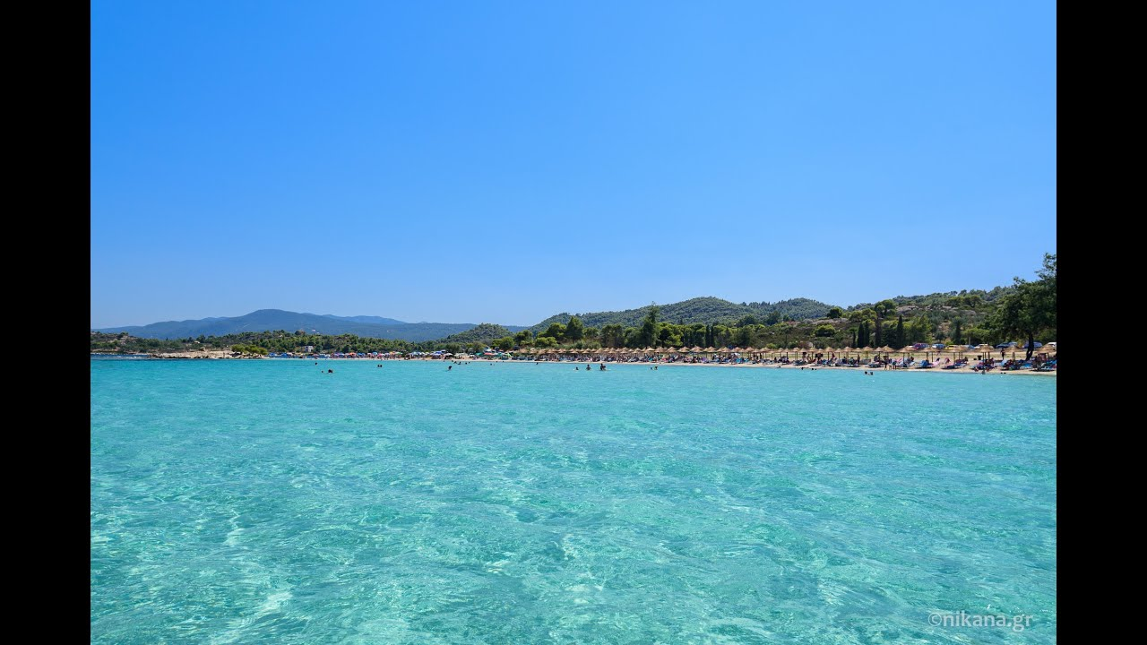 Lagonisi Beach On Sithonia Greece