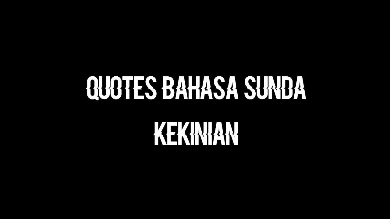 quotes bahasa sunda kekinian
