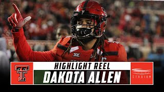 Dakota Allen Texas Tech Football Highlights - 2018 Season | Stadium