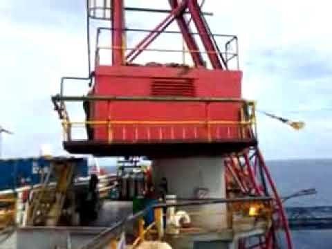 Working Offshore Crane operation accident
