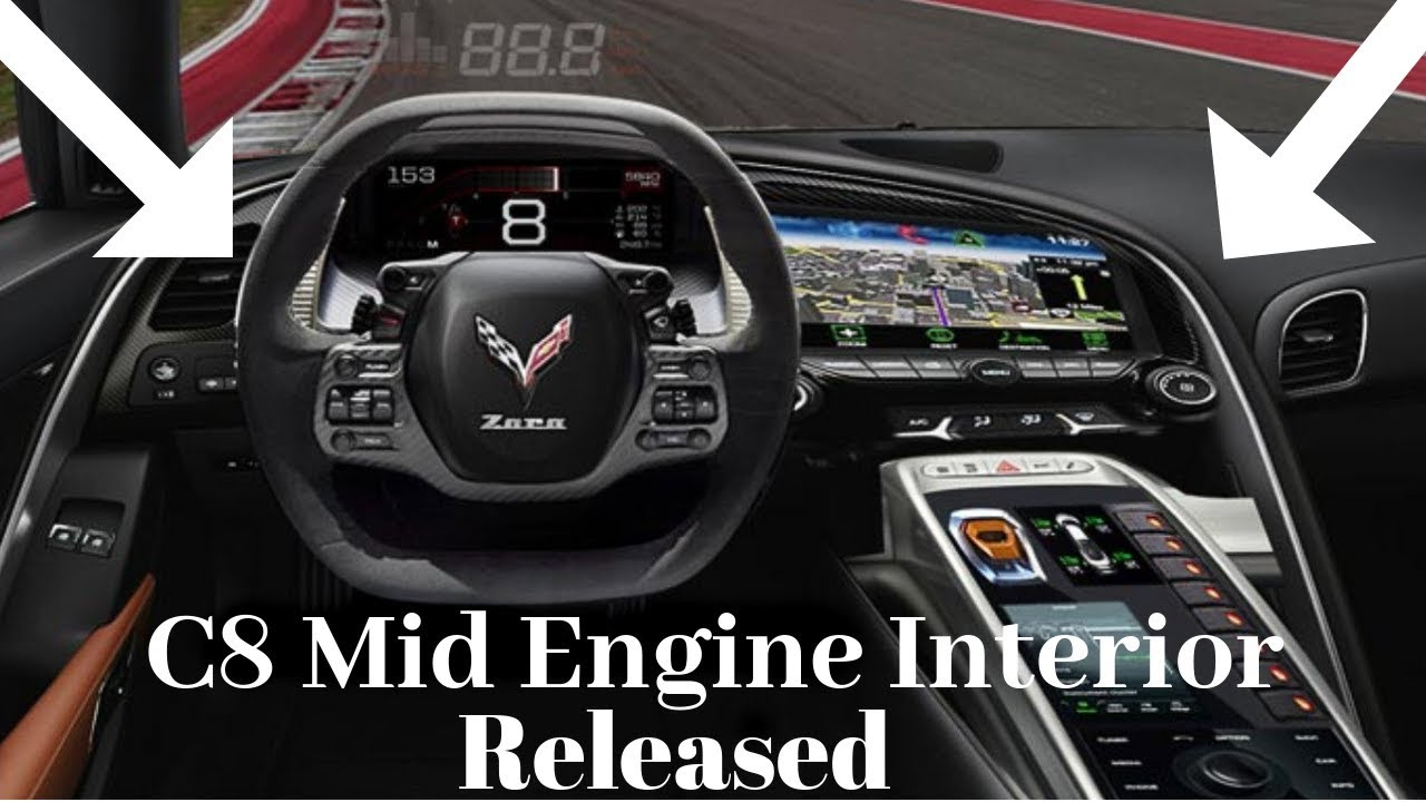 Mid Engine Chevy Corvette INTERIOR released FIRST LOOK! - YouTube