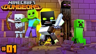 DAS NEUE MINECRAFT SPIEL!! - Minecraft Dungeons #01 [Deutsch/HD]
