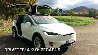 "DriveTesla 2.0: Rundgang Model X ""Pegasus"" (Walkthrough)"