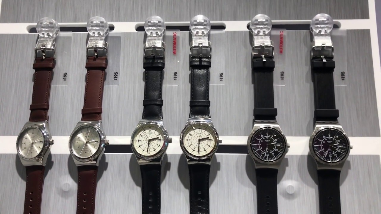 8bbe78f9 Field Trip : Sistem 51 @ The Swatch Store by LuxWatchesForNewbies