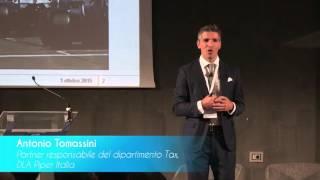 Antonio Tomassini, partner, DLA Piper: Welcome to the Italian Tax Reform Conference 2015