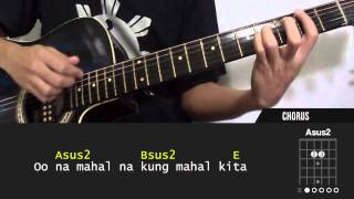 Learn the chords of Wag Mo Na Sana by Parokya Ni Edgar. Please like...