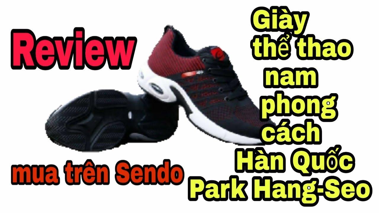 giày thể thao nam phong cách Hàn Quốc park hang-seo mua trên Sendo
