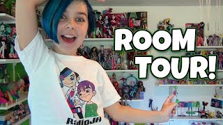 Room Tour - My Little Pony, Minecraft, Monster High, LEGO, Star Wars and More