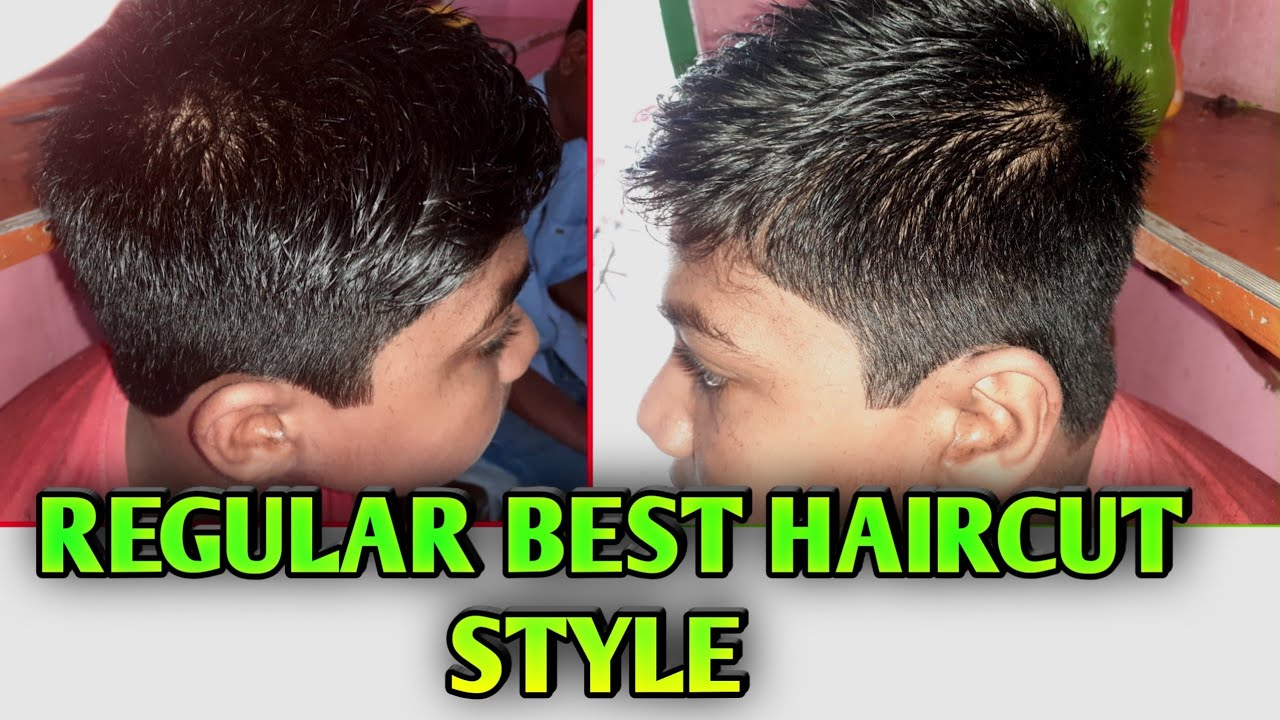 Regular Best Haircut Style || Cool Hair Style For Small Boy 2019 || Odia  Barber Munna