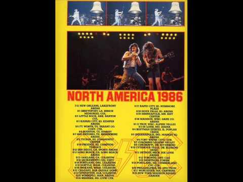 AC/DC [August 25th 1986] Winnipeg Arena, Winnipeg, MB, Canada