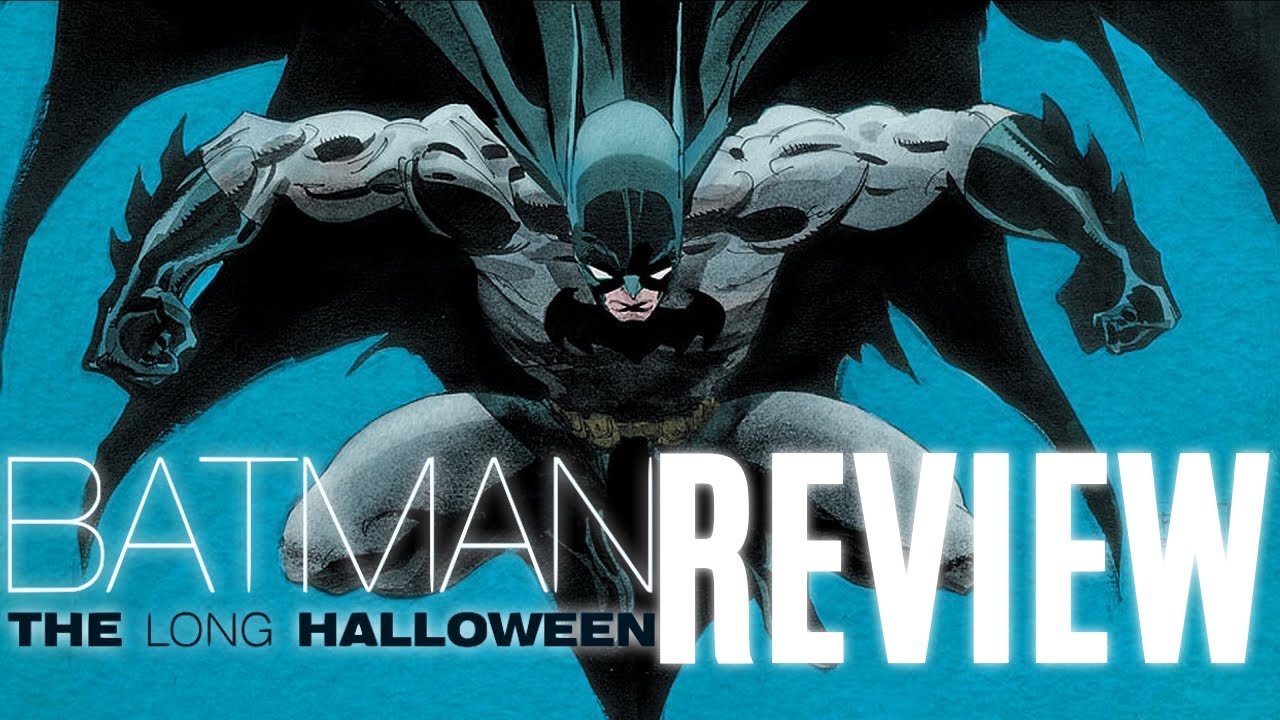 batman the long halloween - graphic novel review - youtube