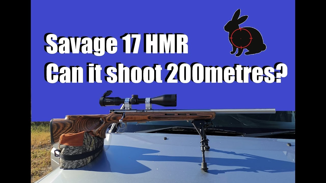 Download Savage 17 HMR + 200m field test review.