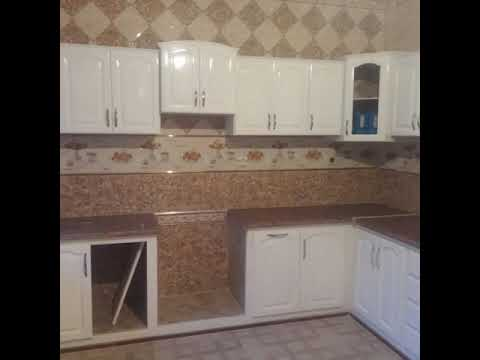 cuisine bois rouge blanc