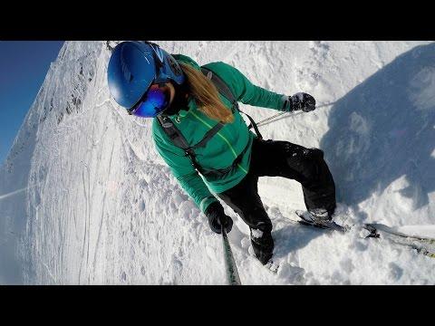 SKIING POWDER AT BIG WHITE IN B.C. CANADA!