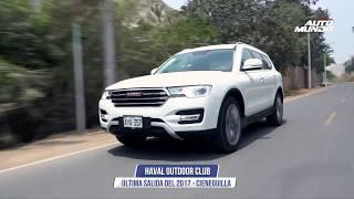 Haval Outdoor club cerró el 2017 con caravana a Cieneguilla