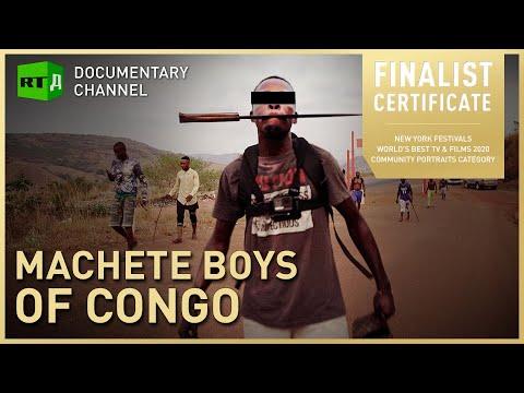 Machete Boys of Congo. Kulunas: Inside the brutal world of youth gangs