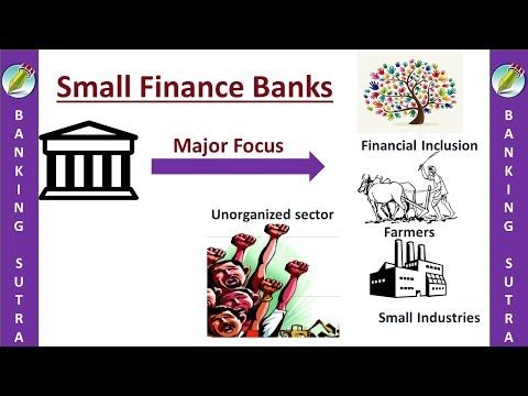 small finance banks upsc | differential banking meaning | niche banking definition