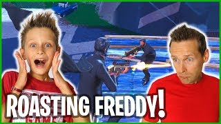 ROASTING FREDDY IN PLAYGROUNDS!