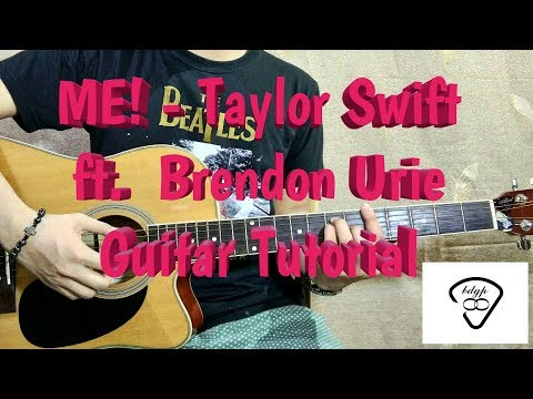 Me! - Taylor Swift ft. Brendon urie Guitar tutorial | 4 easy chords no capo