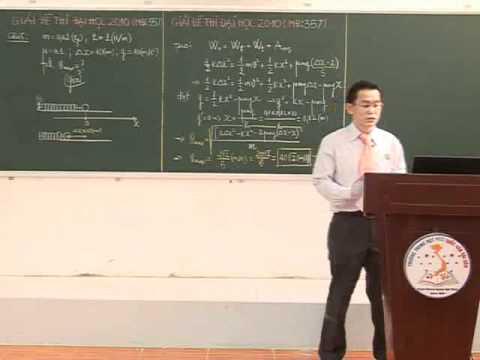 Giải đề thi đại học Môn Lý (P2) - Thầy Nguyễn Đức Hoàng
