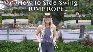 How To Jump Rope Side Swing Tutorial in 3 minutes