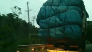Coorg tourism| Journey by road on ghat section| Sullia to madikeri| Amazing scenery along the ghats