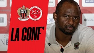 VIDEO: Patrick Vieira fait le point avant Nice - Reims