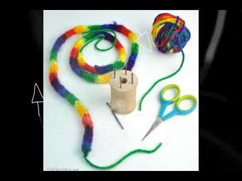 DIY - How to Make Your Own Spool Knitter - YOUTUBE