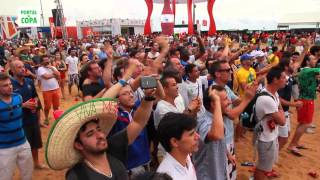 Fan Fest em Fortaleza: turistas avaliam a festa brasileira