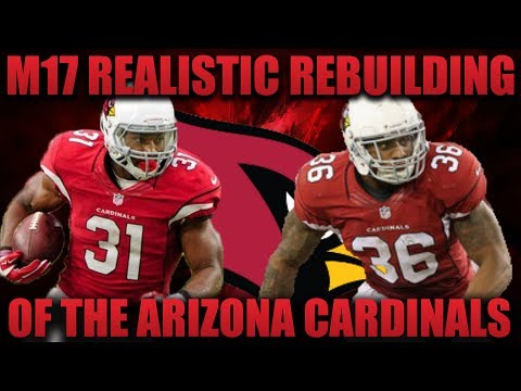 Madden 17 Franchise | Realistic Rebuilding of The Arizona Cardinals! Lockdown Defense!!