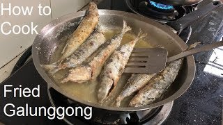 How to Cook Fried Galunggong Filipino Style (How to Fry Round Scad Fish)