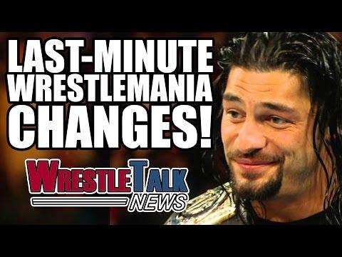 Samoa Joe Wrestlemania 33 Role Revealed? Last Minute Wrestlemania Changes?   WrestleTalk News 2017