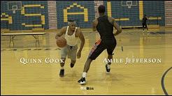Quinn Cook & Amile Jefferson - Chuck Ellis Workout