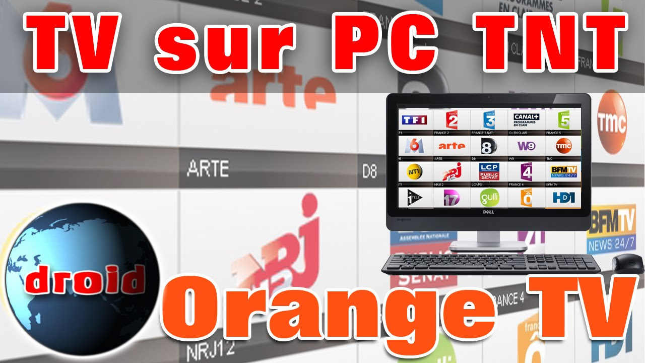 orange tv sur pc la t l vision tnt avec windows sans vlc et m3u youtube. Black Bedroom Furniture Sets. Home Design Ideas