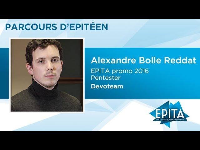 Parcours d'Epitéen - Alexandre Bolle Reddat (promo 2016) - Devoteam