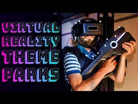 Virtual reality comes to theme parks