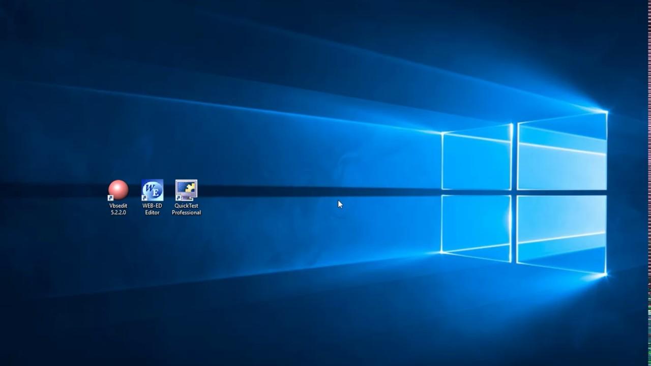 00 VBScript Tutorial, Editing Tools for writing code, Web-ED, Vbsedit,HP  QTP / UFT 10