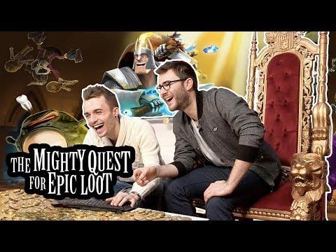 The Mighty Quest : Défoncez le château de Squeezie !