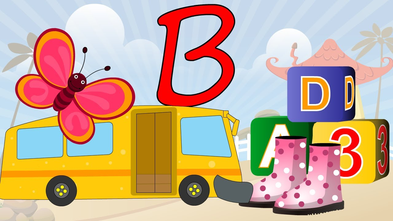 learn about the letter b preschool activity youtube