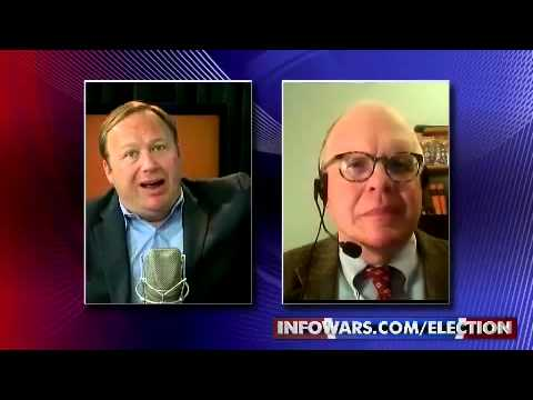 Webster Tarpley, Alex Jones election coverage. Another great debate