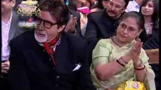 Abhishek Bachchan at  Apsara Awards 2010