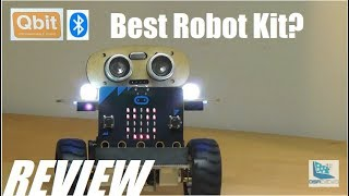 REVIEW: QBit Self-Balancing DIY Robot - Micro:Bit Powered Kit!