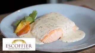 chef tutorial poaching salmon