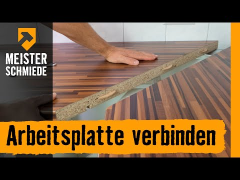 arbeitsplatten verbinden hornbach meisterschmiede youtube. Black Bedroom Furniture Sets. Home Design Ideas