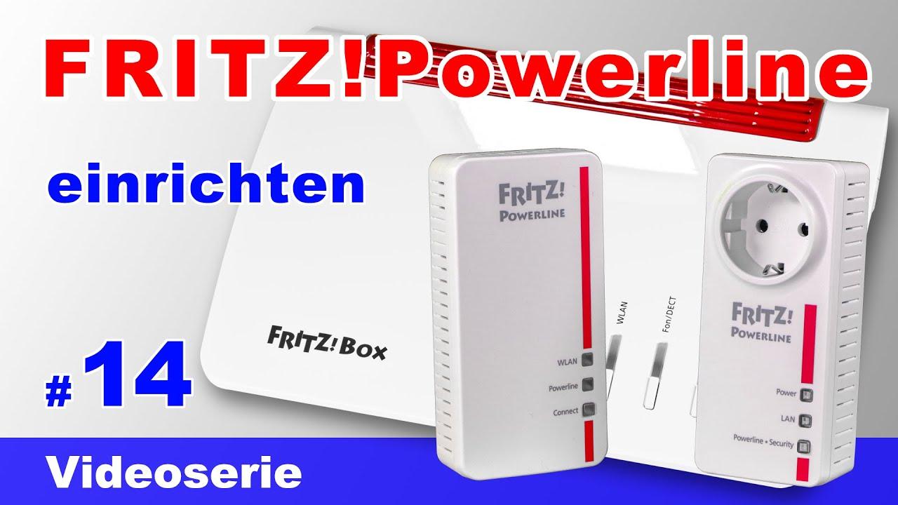 FRITZ Powerline einrichten 8e, 8e inkl. FRITZBox 8 Mesh -  Powerline Adapter verbinden #8