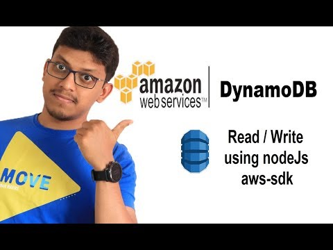 Read and Write to DynamoDB using NodeJs (aws-sdk)
