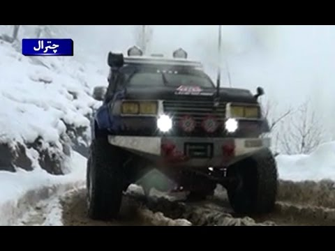 Snow Jeep Rally Held In Chitral